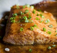 Dijon Maple Glazed Salmon is one of my favorite quick healthy dinner recipes, full of tangy sweet flavor from only 3 ingredients with a whooping 218 calories per serving! A definite must have in your recipe archive! Healthy Weekly Meal Plan, Healthy Menu, Easy Healthy Dinners, Easy Healthy Recipes, Quick Easy Meals, Healthy Eating, Healthy Sweets, Easy Dinners, Keto Recipes