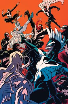 X-Men: Prime #1 (2017) Venomized Variant Cover by Kris Anka