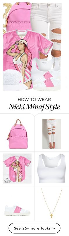 """6-25-15 nicki minaj this no competition, its a fashion show aint no winners #duh"" by no-flex-zone on Polyvore"