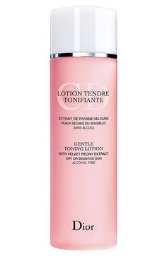 $33.00 Dior Gentle Toning Lotion available at Nordstrom