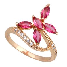 Find More Rings Information about Made with Genuine Austrian Crystals 18K gold plated ruby rings 2016 fashion jewelry for womens size 6 7 8 9 R223,High Quality jewelry dish,China jewelry men Suppliers, Cheap jewelry wire from Dana Jewelry Co., Ltd. on Aliexpress.com