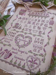 """Cuore e Batticuore: Profumo di....""""Lavender Sampler"""""""