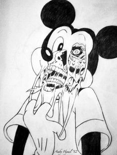 196 Best Death To Mickey Mouse Images On Pinterest