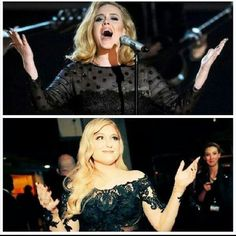 """This is beautiful @Meghan_Trainor #Adele"""