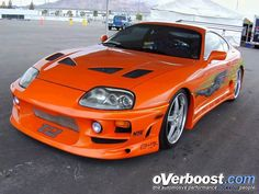 Supra! yea its the one from The Fast and the Furious
