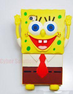 SpongeBob Squarepants 3D Case for iPhone 4/4S