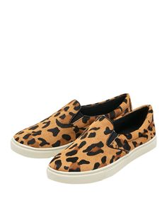 #Leopard #print #canvas Pattern Round-toe Flat #Loafers $27 (reg $69) #shoes #flats #BlackFive  #fashion #style #shopping #clothing #women #apparel #accessories