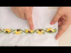 LINDO Y FACIL;COMO TEJER EL ORILLO O BORDE PARA UNA TOALLA / HOW TO KNIT THE EDGE OF A TOWEL - YouTube