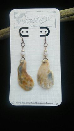 Check out this item in my Etsy shop https://www.etsy.com/listing/212085172/shell-earrings