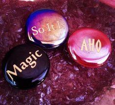 Athena's Mantra Stone Magnet Trio