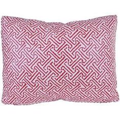 Quadrille Java Java Bolero Shimmer Decorative Pillow $165.00 (USD).  Product in photo is from www.wellappointedhouse.com