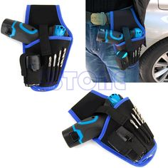 A96 High Quality Portable Cordless drill Holder Holst Tool Pouch For 12v Drill Waist Tool Bag  Price: 2.48 USD