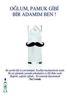 Efe Rakı Seri Dergi Reklamı