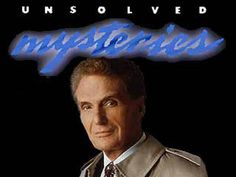 """Raise your hand if you watched this as a child and then ended up needing therapy later.....""""Unsolved Mysteries"""" TV show"""