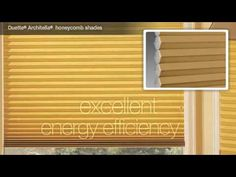 Hunter Douglas Honeycombs deliver excellent energy efficiency by trapping air before it enters a room, keeping you cool in the summer and warm in the winter.