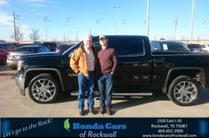 Congratulations Tyler on your #GMC #Sierra 1500 from Art Sanders at Honda Cars of Rockwall!  https://deliverymaxx.com/DealerReviews.aspx?DealerCode=VSDF  #HondaCarsofRockwall