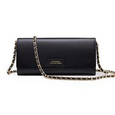 Luxury Gifts: Luxurious Terre Concetta Wallet in Black