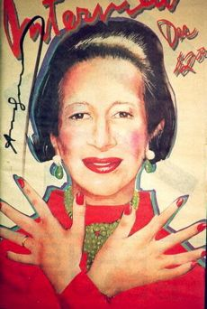 Diane Vreeland - just saw the film and feel back in love with her.