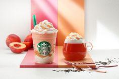 Image of 白桃狂潮再次攻入 Starbucks!推出全新白桃泡沫紅茶,加推白桃星冰樂!