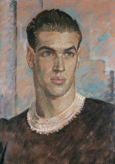 Portrait of André Eglevsky, Glyn Philpot