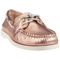 Rose Gold Sperry!!