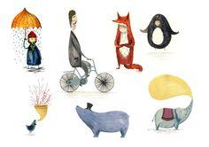 Characters - Ellie Jenkins Illustration