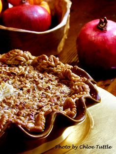 Recipe for Bourbon Pecan Pie - a southern favorite from Big Mill Bed and Breakfast