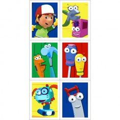 Handy Manny Stickers (4 Sheets)