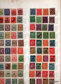 Selos Alemanha Reich sem carimbo 5