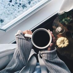Anyone who knows me knows I LOVE a steaming cup of bold coffee. But when my hands are chilly from the crisp autumn air, I enjoy taking the cup in both my hands to warm them up as I enjoy the steamy coffee aroma