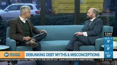 November is Financial Literacy Month in Canada! Blair Mantin joins Vancouver's Breakfast Television to debunk his top four myths and misconceptions about debt, and how they can end up costing consumers money. Vancouver, Financial Literacy, Sands, Debt, Watch, Learning, Top, Clock, Bracelet Watch