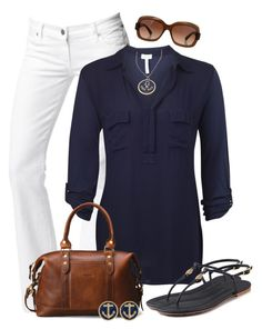 """""""Untitled #345"""" by wishlist123 ❤ liked on Polyvore featuring Citizens of Humanity, Splendid, J.W. Hulme Co., Giorgio Armani, Tory Burch and Blu Bijoux"""