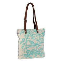 Harper Tote in Azure by Amy Butler
