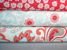 Verona Fabric Rouge From Riley Blake Designs love these colors for irelyn room.
