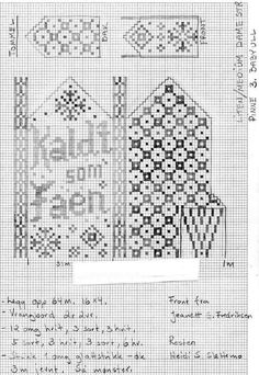 The recipe for cold as hell is moth, here's how many masks and which ones - Easy Yarn Crafts Knitted Mittens Pattern, Fair Isle Knitting Patterns, Knit Mittens, Knitting Charts, Knitted Gloves, Free Knitting, Easy Yarn Crafts, Diy And Crafts, Filet Crochet