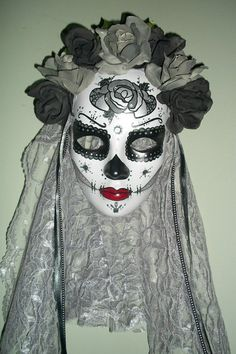 Dia de Los Muertos Masks