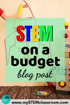 This blog posts gives you some tips on collecting materials for your STEM classroom for FREE or on a tight budget. STEM can be a very expensive class to run. How can you fit in everything on a restrictive budget? This blog post explains what I have done Science Resources, Science Lessons, Teaching Science, Teaching Kids, Stem Teaching, Teaching Resources, Stem Science, Science Fair, Science Experiments