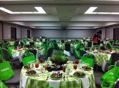 The green color scheme is fabulous!