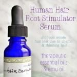 Organic Root Stimulating Serum: Natural Alternative to Minoxidil for Thinning Hair