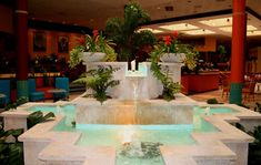 Large Wall Fountains Indoor--in-Lobby