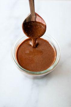 Did you know: Du kan lage ditt eget, veganske sjokoladepålegg (litt som nutella) av to ingredienser?