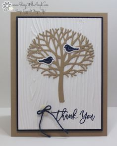 Stampin' Up! Thoughtful Branches for Stamp Ink Paper (Stamp With Amy K)