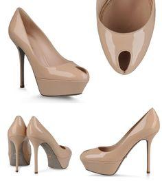 Escarpins Sergio Rossi Cachet Peeps, Peep Toe, Platform, Shoes, Fashion, Classic, Heels, Moda, Zapatos