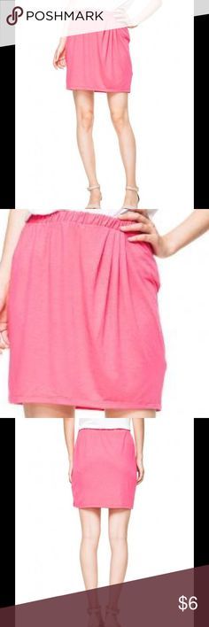 Draped Jersey Skirt OLD NAVY Rose Pink Color NWT Brand new with tag. Please refer top pictures for details and description. Old Navy Skirts Mini