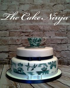China Hand Painted Cake - Cake by Tiddy