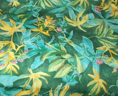 Jennifer Sampou Colourwash florals sewing fabric Cotton Quilting fabric OOP #PBTextiles