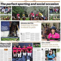 11/7/14 Articles covering Ralph Lauren Polo PHOTO: reemabulleil