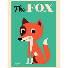 Affiche Renard The Fox Ingela P. Arrhenius