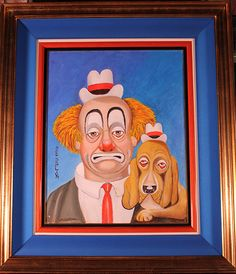 sign by red skelton watercolors paintings - Google Search