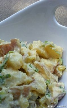 Meat Free Athlete - Vegan Potato Salad Recipe